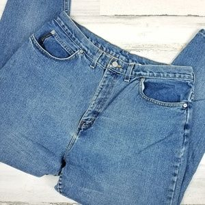 Faded Glory 16 W Cotton Made in USA Mom Jeans